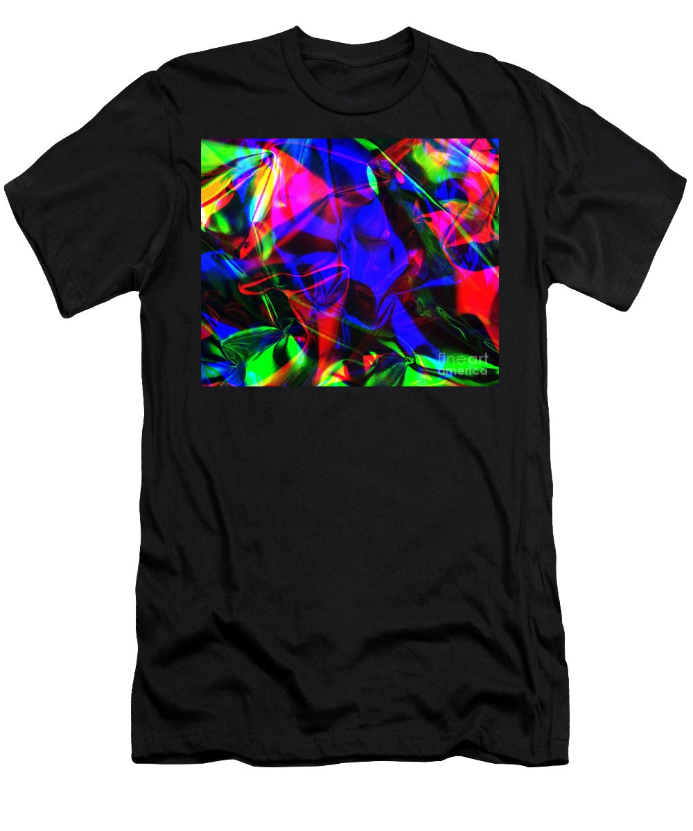 Rgb Men's T-Shirt (Athletic Fit) featuring the photograph Digital Art-a13 by Gary Gingrich Galleries
