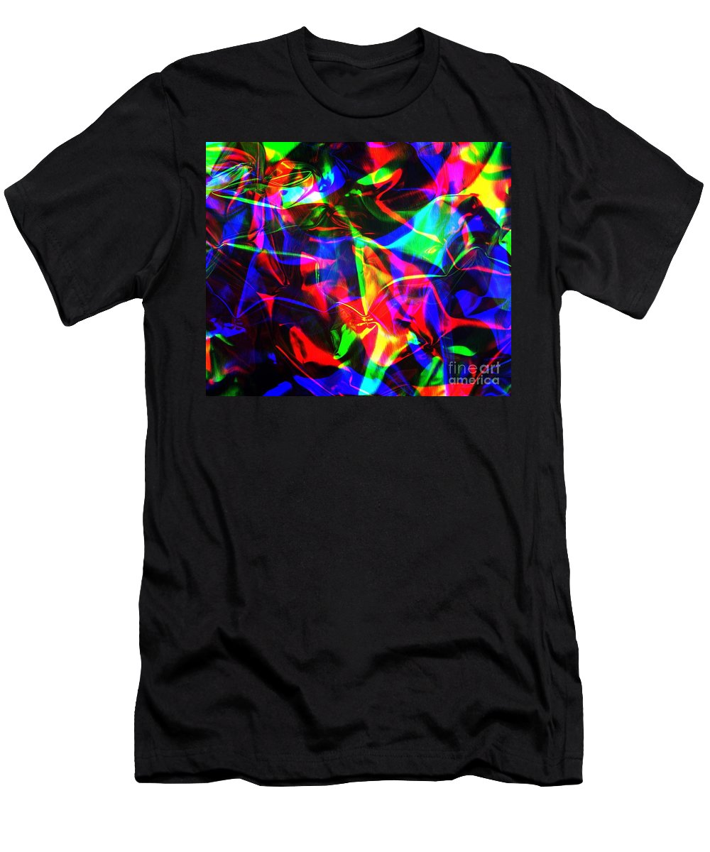 Rgb Men's T-Shirt (Athletic Fit) featuring the photograph Digital Art-a15 by Gary Gingrich Galleries