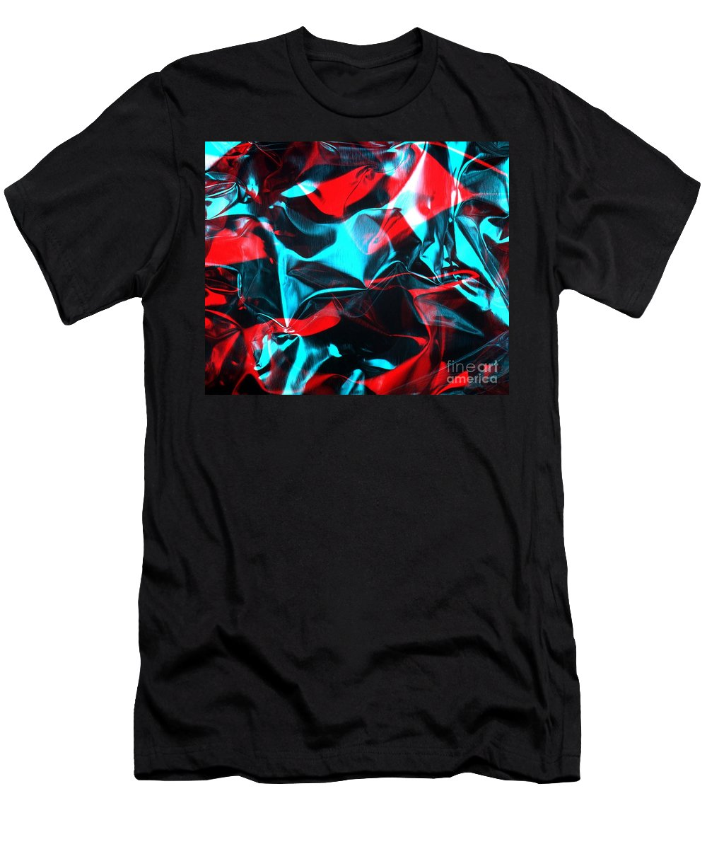 Rgb Men's T-Shirt (Athletic Fit) featuring the photograph Digital Art-a20 by Gary Gingrich Galleries