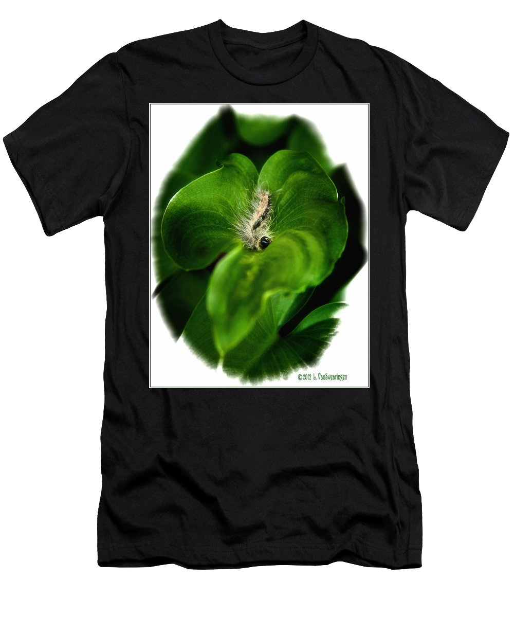 Caterpillar T-Shirt featuring the photograph Dinner Is Served by Lucy VanSwearingen