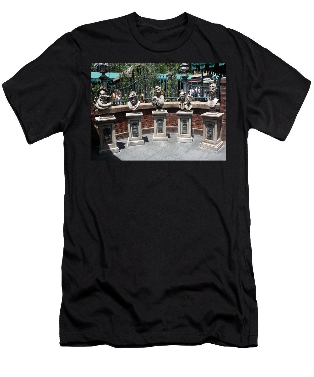 Disney World Men's T-Shirt (Athletic Fit) featuring the photograph Disney Deceased by David Nicholls