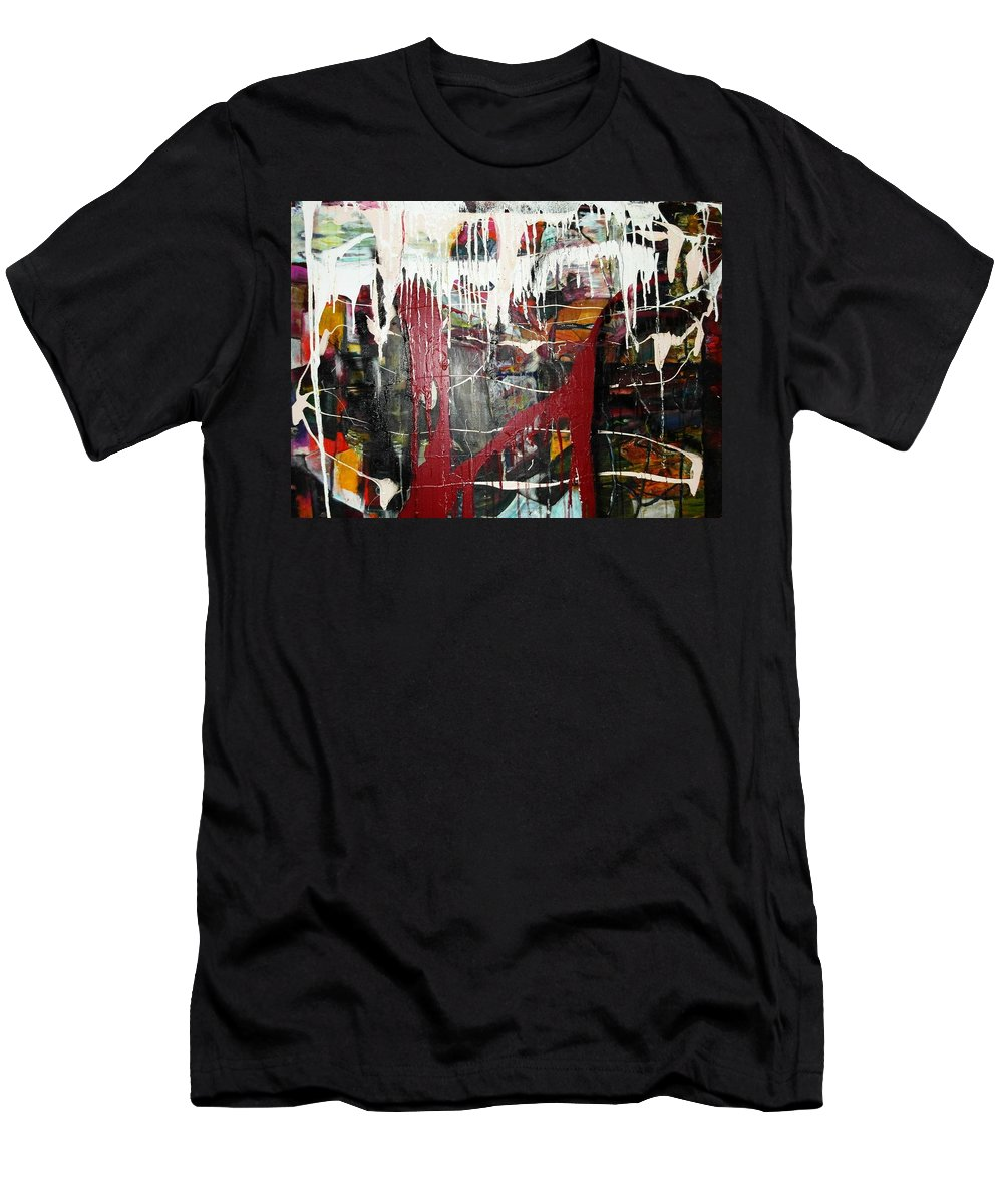 Non-objective T-Shirt featuring the photograph Diversity by Peggy Blood
