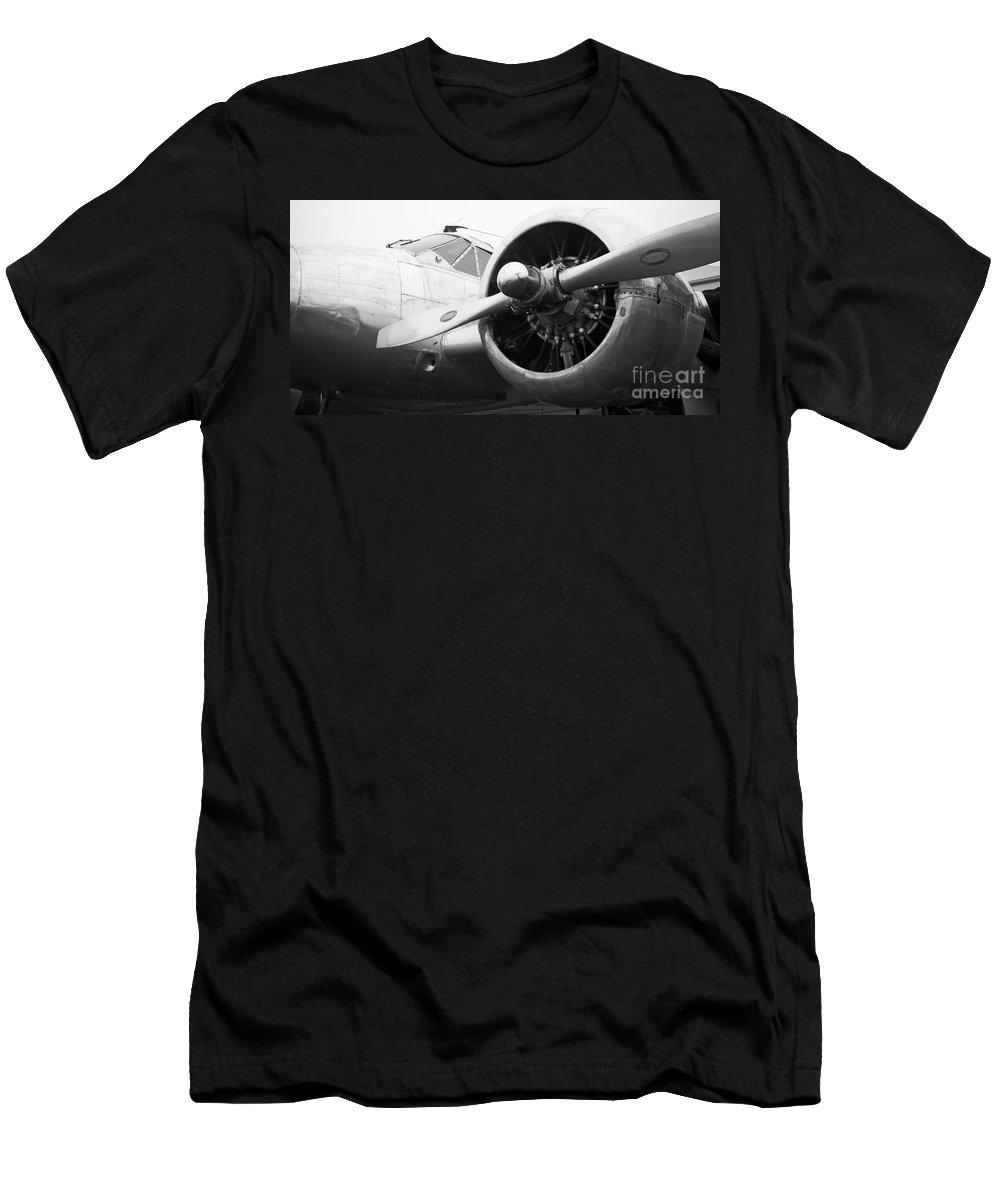 Douglas Dc-3 Men's T-Shirt (Athletic Fit) featuring the photograph Douglas Dc-3 by Chris Dutton