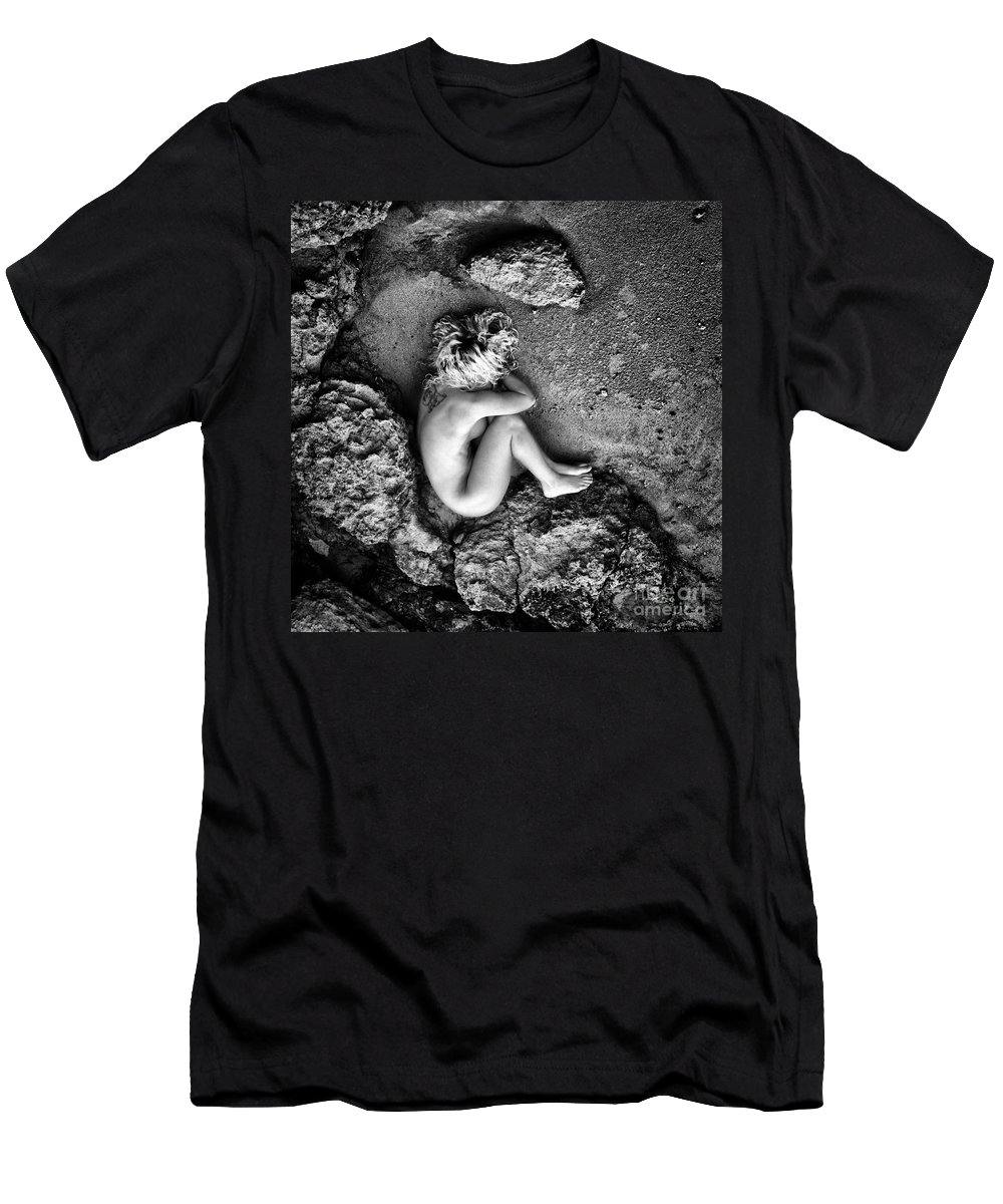 Art Men's T-Shirt (Athletic Fit) featuring the photograph Earth Is My Birth by Stelios Kleanthous