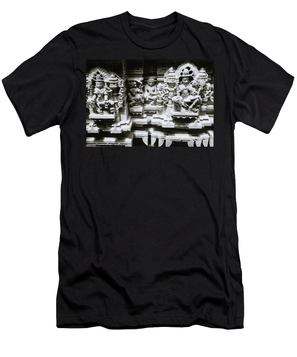 India Men's T-Shirt (Athletic Fit) featuring the photograph Eastern Beauty by Shaun Higson