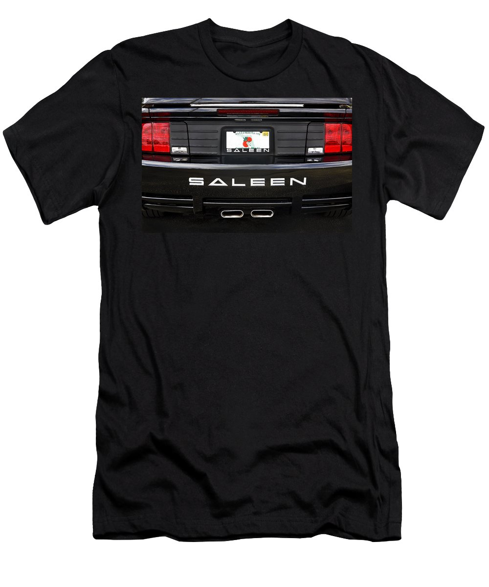 Mustang Men's T-Shirt (Athletic Fit) featuring the photograph Easy Saleen by Rich Franco