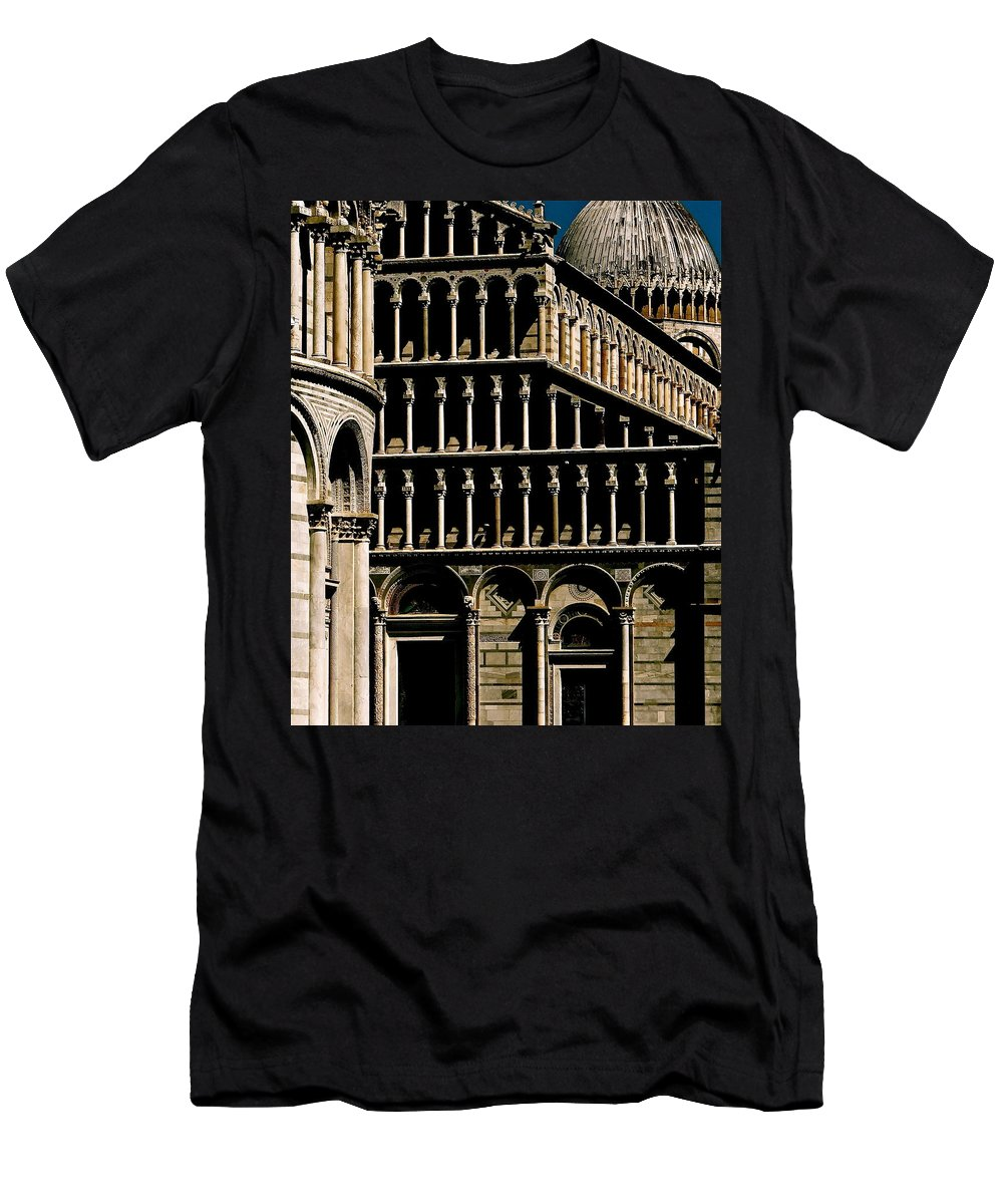 Pisa Men's T-Shirt (Athletic Fit) featuring the photograph Eclipse by Ira Shander