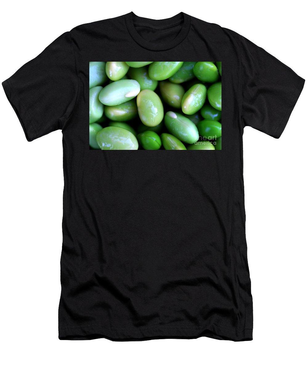 Edamames Men's T-Shirt (Athletic Fit) featuring the photograph Edamames by Henrik Lehnerer