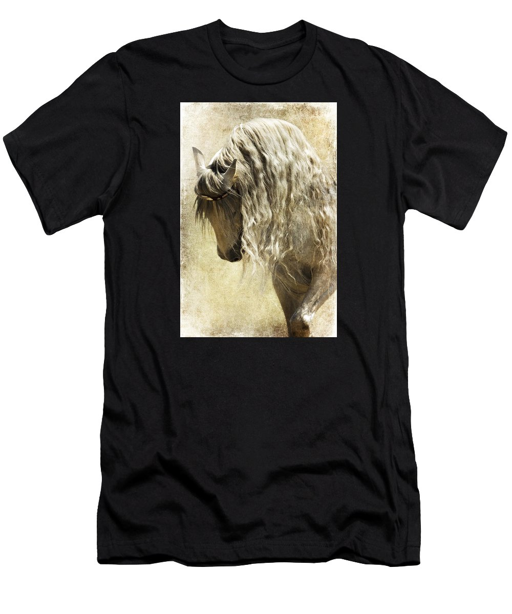 Elegance Men's T-Shirt (Athletic Fit) featuring the photograph Elegance by Wes and Dotty Weber