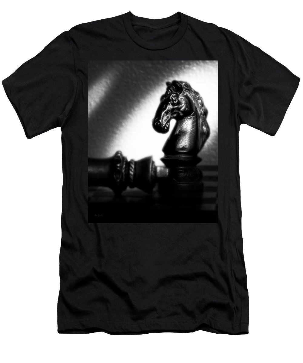 Chess Men's T-Shirt (Athletic Fit) featuring the photograph Endgame by Bob Orsillo