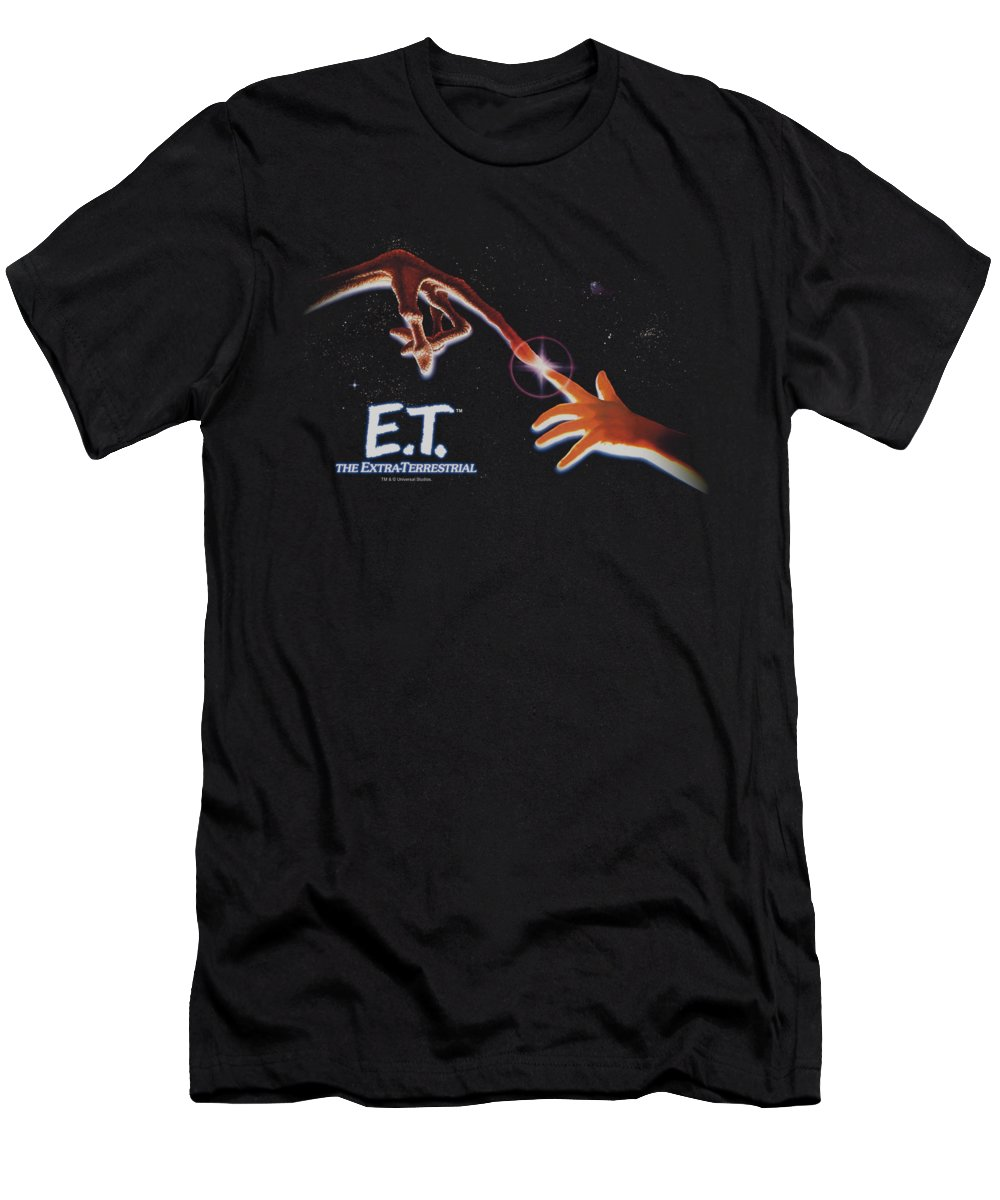 T-Shirt featuring the digital art Et - Poster by Brand A