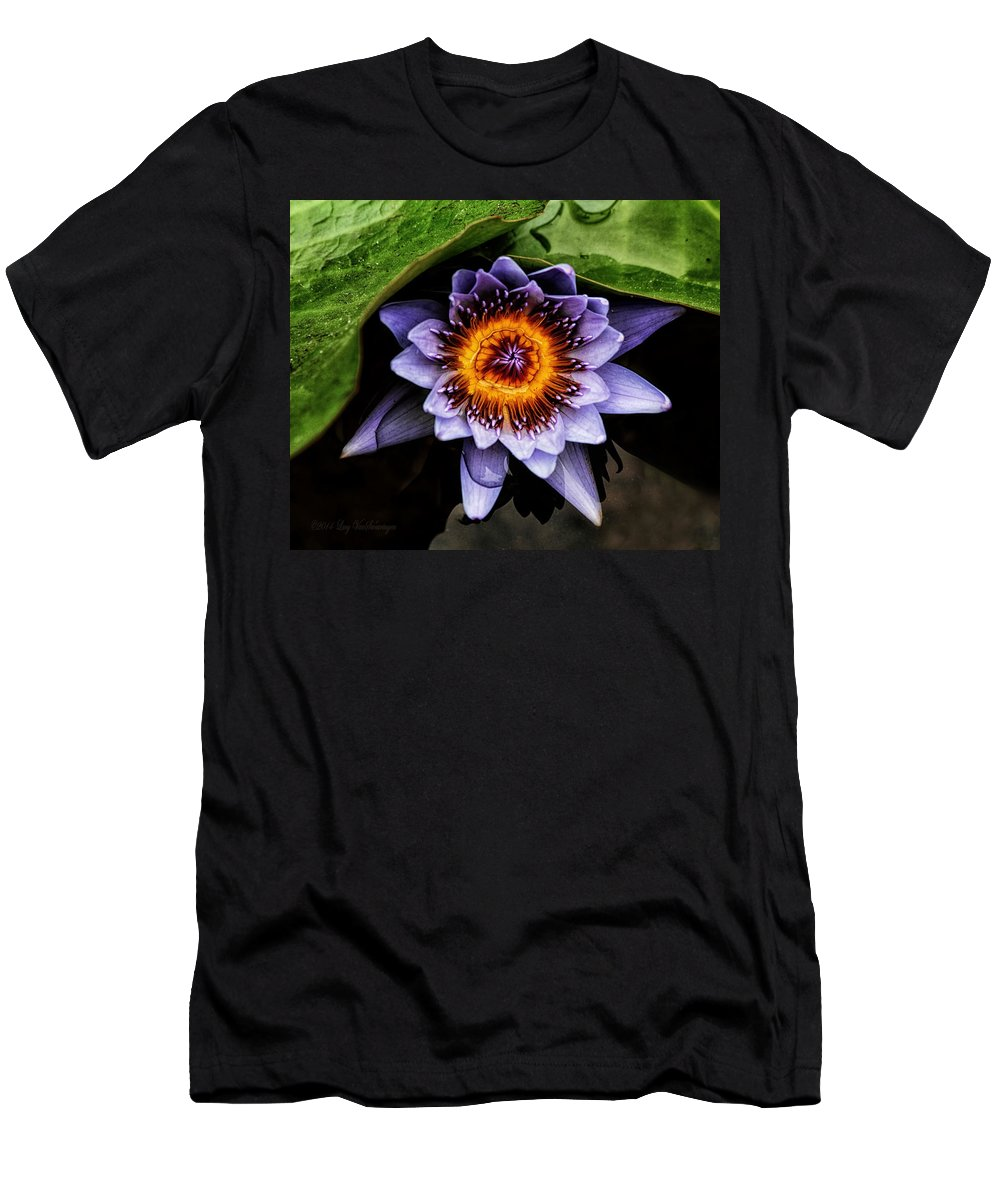 Flower Men's T-Shirt (Athletic Fit) featuring the photograph Ethereal Beauty by Lucy VanSwearingen