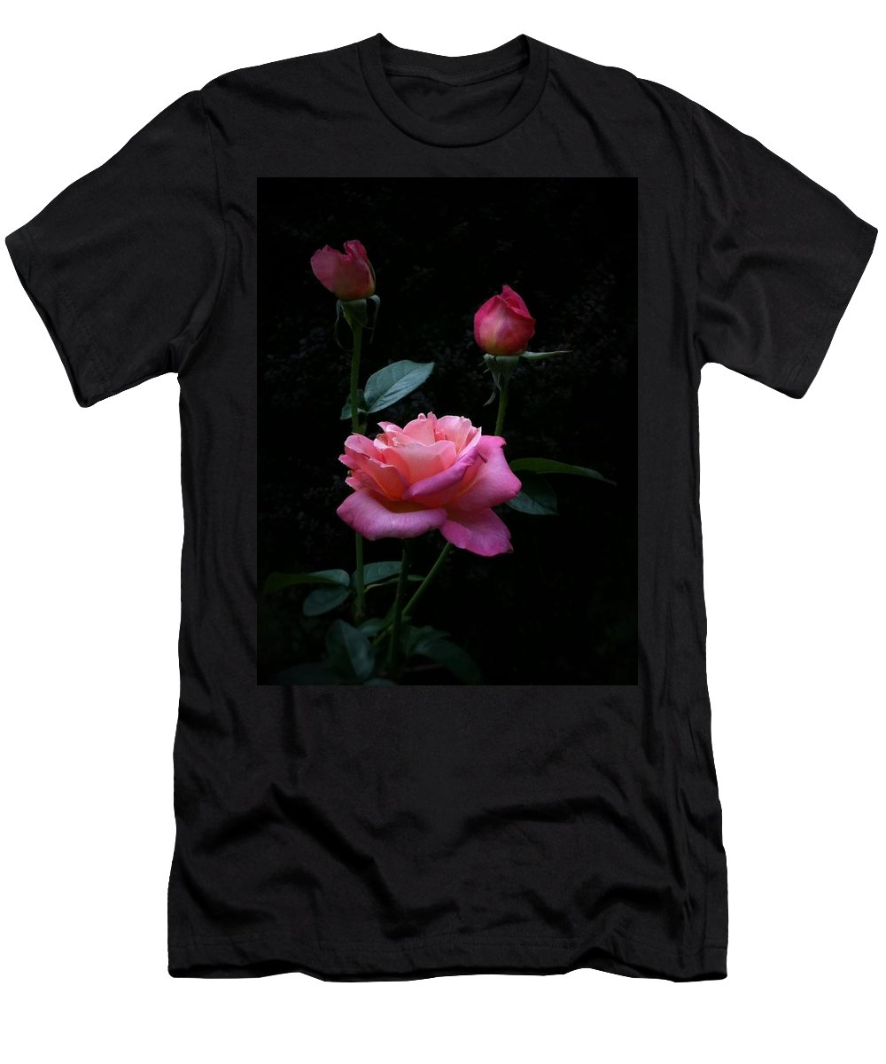 Floral Men's T-Shirt (Athletic Fit) featuring the photograph Evening Delight by Tammy Garner
