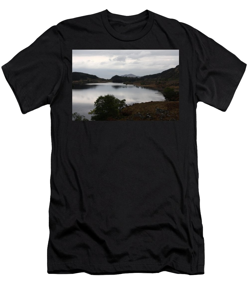 Evening Mood Men's T-Shirt (Athletic Fit) featuring the photograph Evening Mood - Ring Of Kerry - Ireland by Christiane Schulze Art And Photography