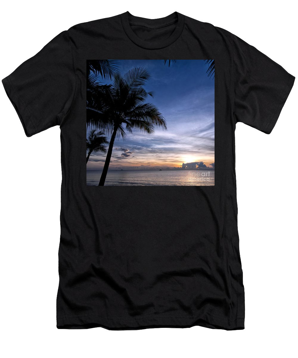 Thailand Men's T-Shirt (Athletic Fit) featuring the photograph Exotic Sunrise 02 by Antony McAulay