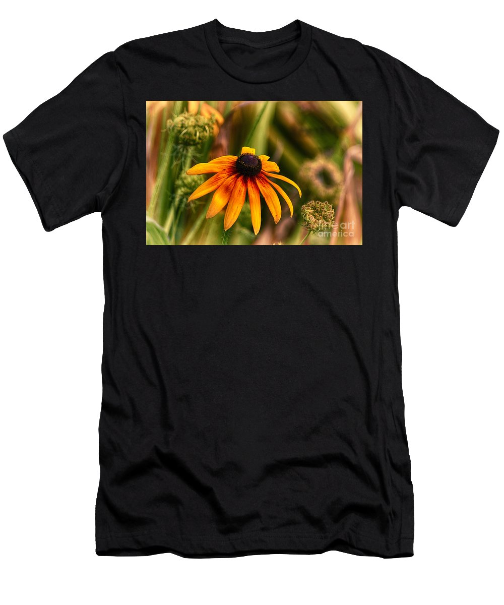 Black Men's T-Shirt (Athletic Fit) featuring the photograph Eye To The Sun by Joe Geraci