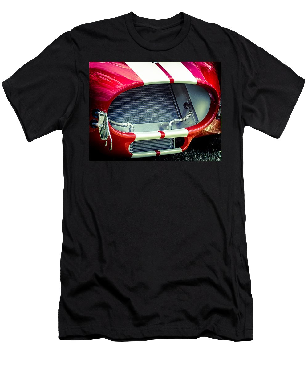 Ford Men's T-Shirt (Athletic Fit) featuring the photograph Face Of The Cobra by Scott Wyatt