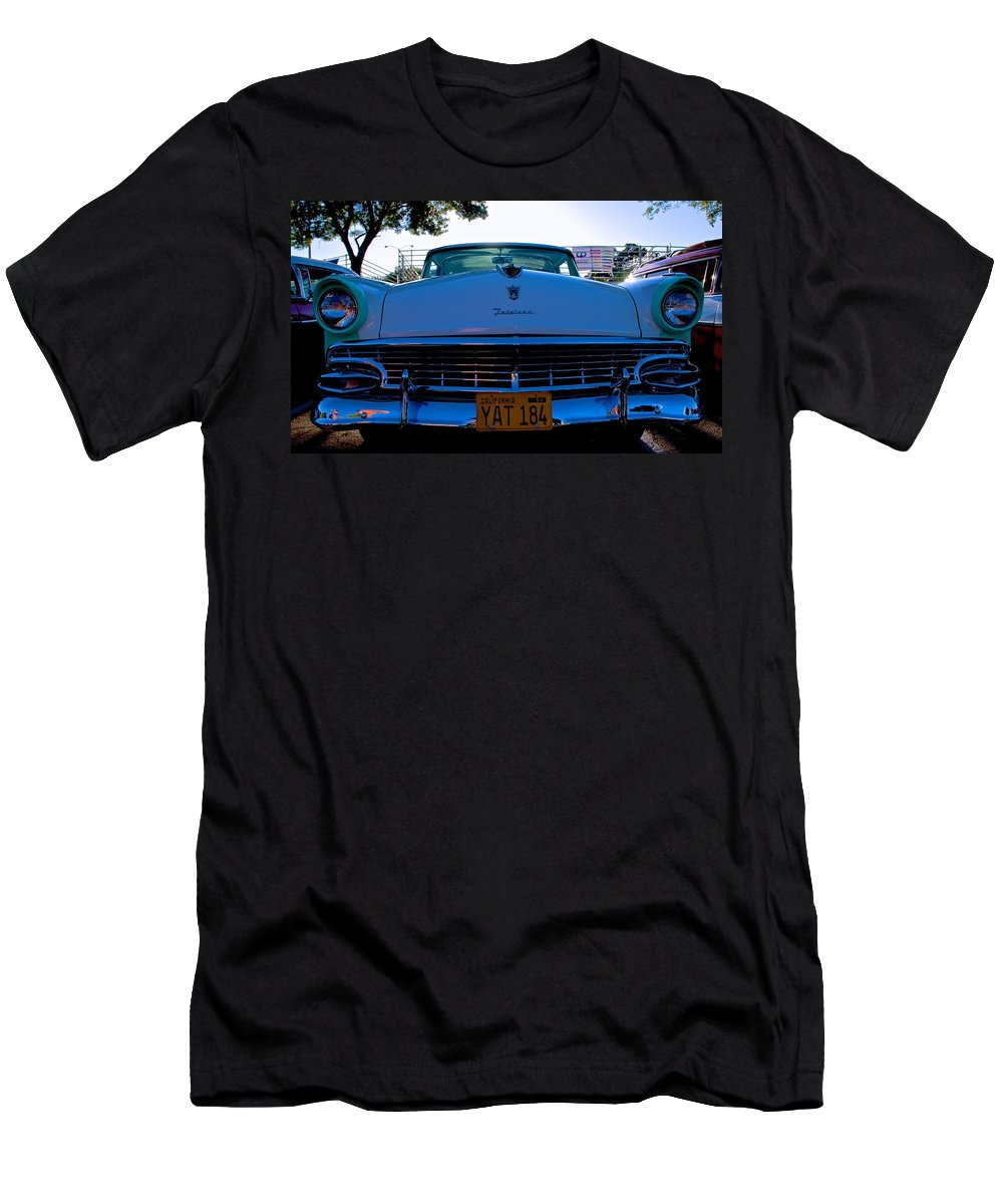 Ford Men's T-Shirt (Athletic Fit) featuring the photograph Fairlane Ford by Eric Tressler
