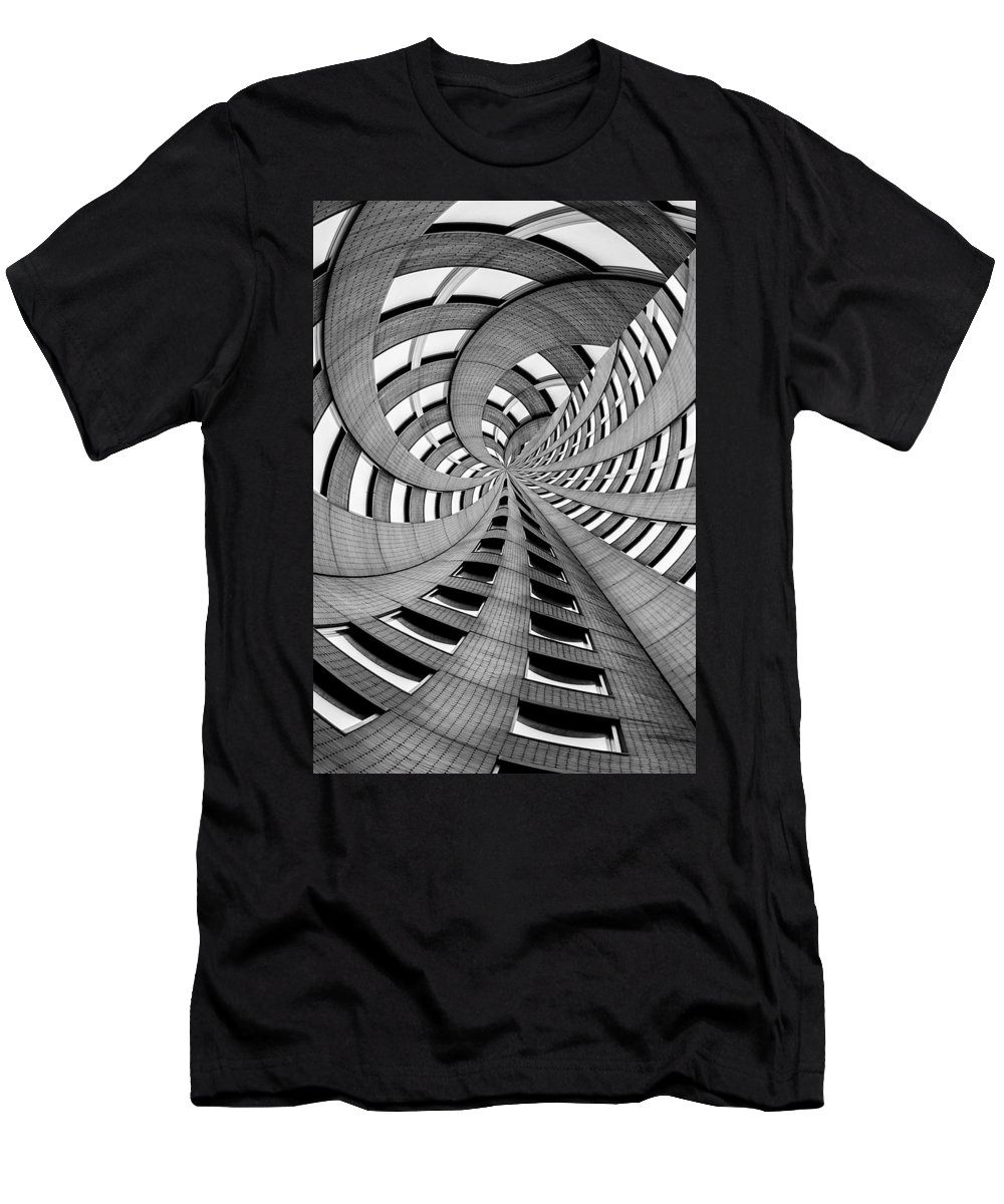 New York Men's T-Shirt (Athletic Fit) featuring the photograph Falling Into by Az Jackson