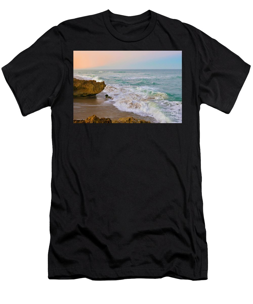 Hutchinson Island Men's T-Shirt (Athletic Fit) featuring the photograph Falling In Love by Olga Hamilton