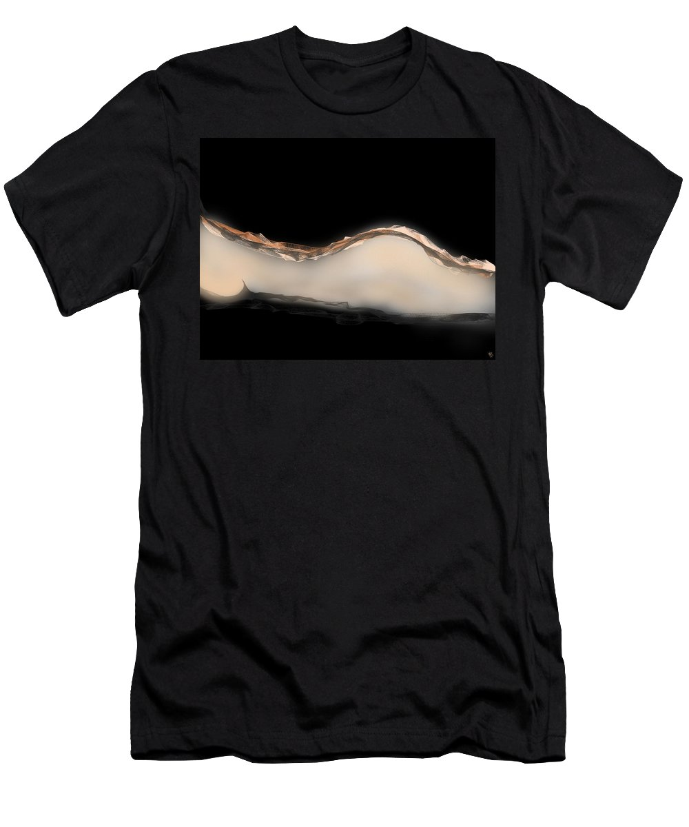 Women Men's T-Shirt (Athletic Fit) featuring the digital art Femme by Mathieu Lalonde