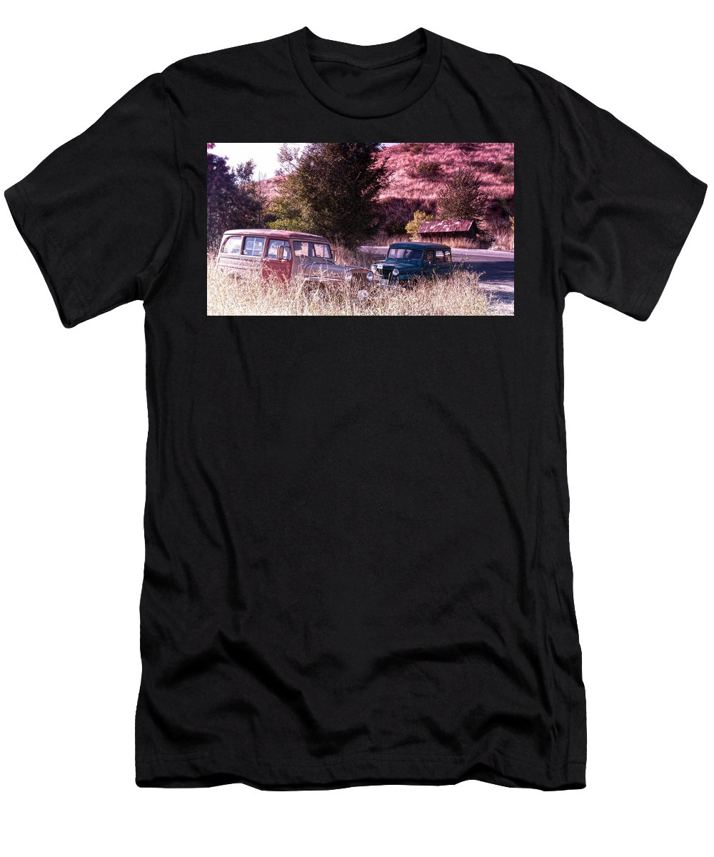 Final Men's T-Shirt (Athletic Fit) featuring the photograph Final Resting Place by Anna Burdette