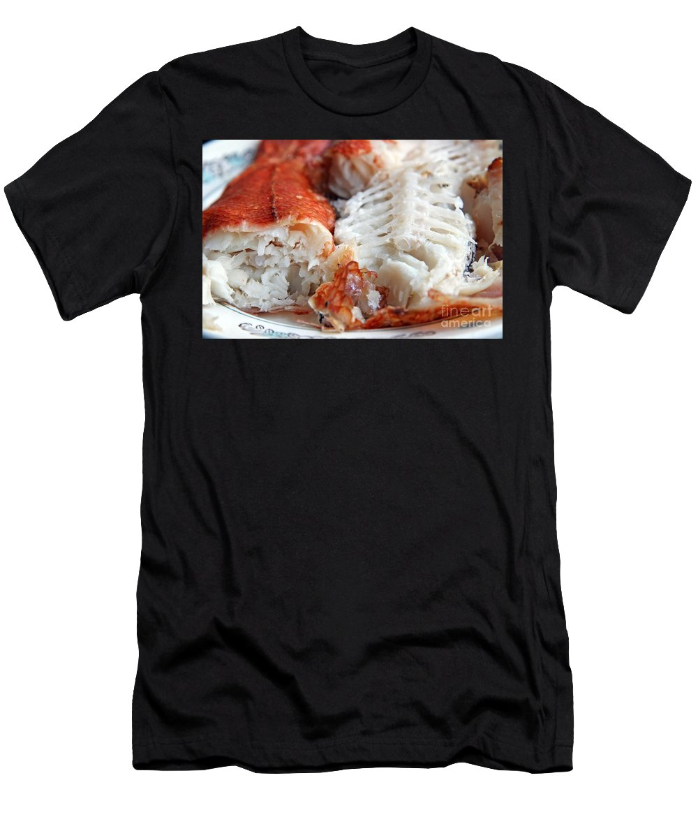 Fish Men's T-Shirt (Athletic Fit) featuring the photograph Fish by Lali Kacharava