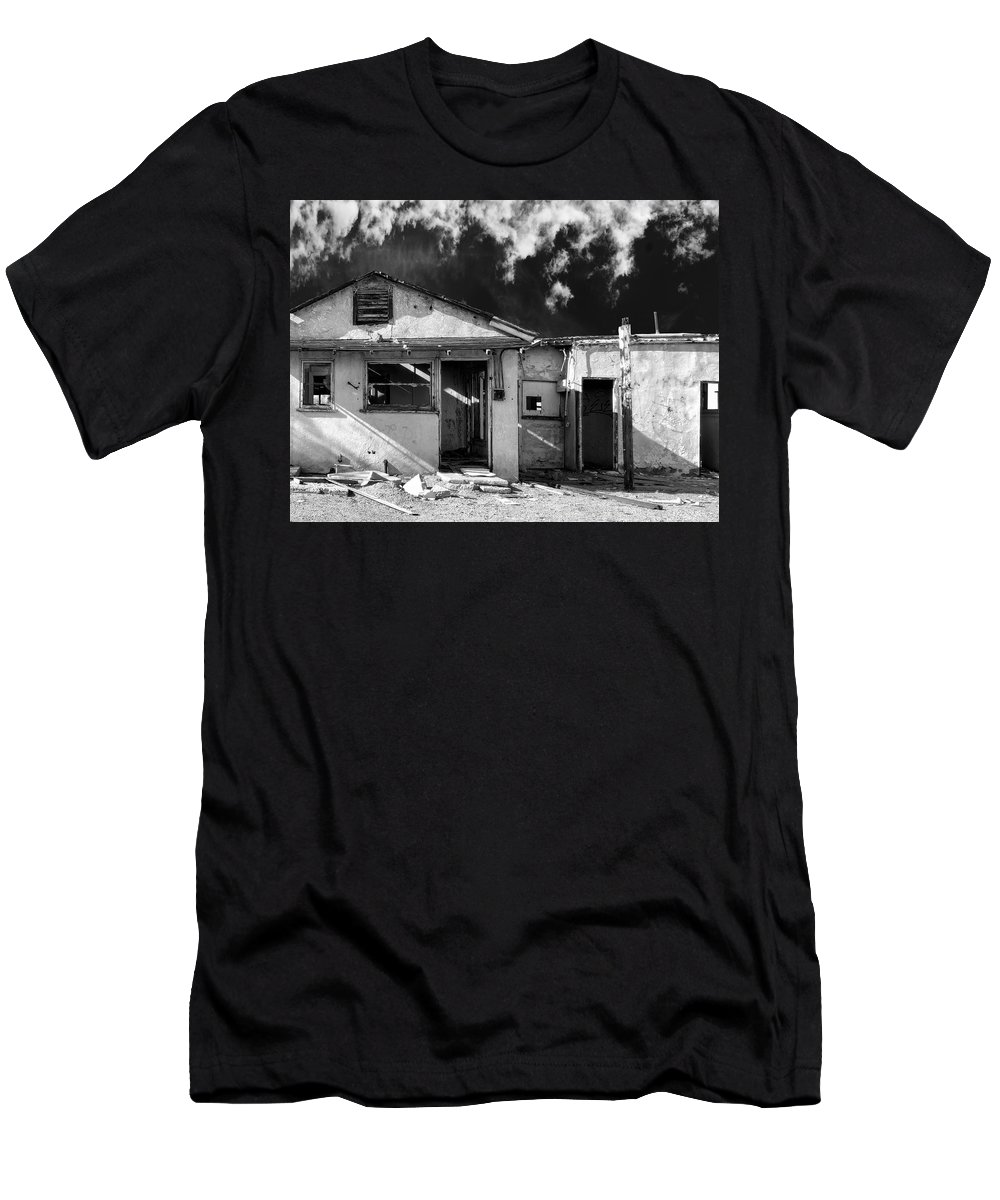 Fixer Upper Men's T-Shirt (Athletic Fit) featuring the photograph Fixer Upper by Dominic Piperata