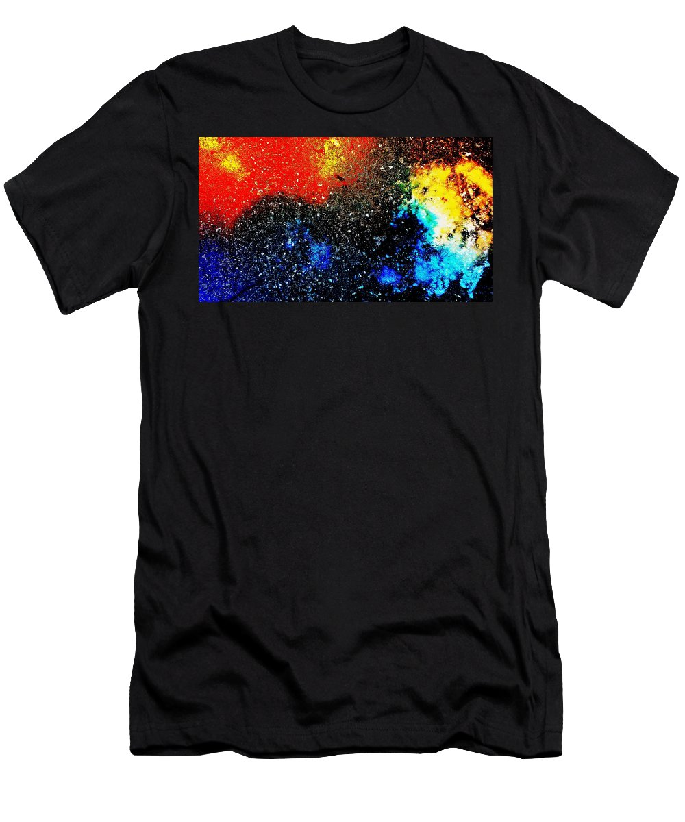 Still Life Men's T-Shirt (Athletic Fit) featuring the photograph Fizz Two by Mark Victors