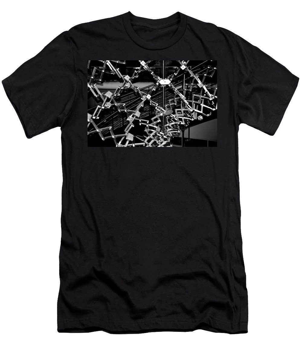 Mechanical Men's T-Shirt (Athletic Fit) featuring the photograph Flex 3 by Charlie Brock