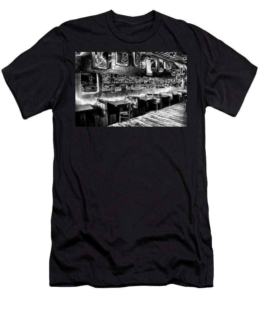 Bar Men's T-Shirt (Athletic Fit) featuring the photograph Floating Pictures by Paul W Faust - Impressions of Light