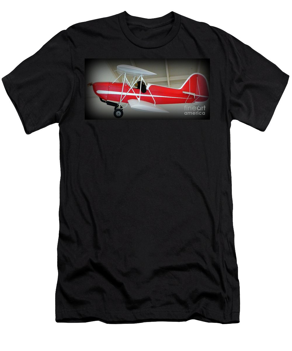Flying Bear Men's T-Shirt (Athletic Fit) featuring the photograph Flying Bear by Susan Garren