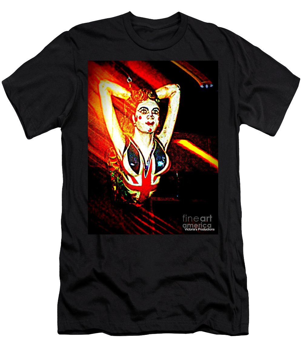 Flying Men's T-Shirt (Athletic Fit) featuring the digital art flying High by Victoria Beasley