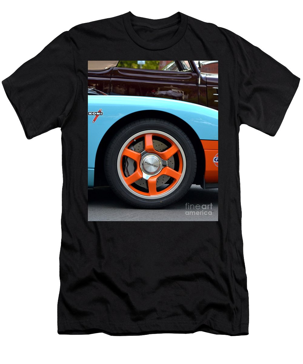Men's T-Shirt (Athletic Fit) featuring the photograph Ford Gt by Dean Ferreira