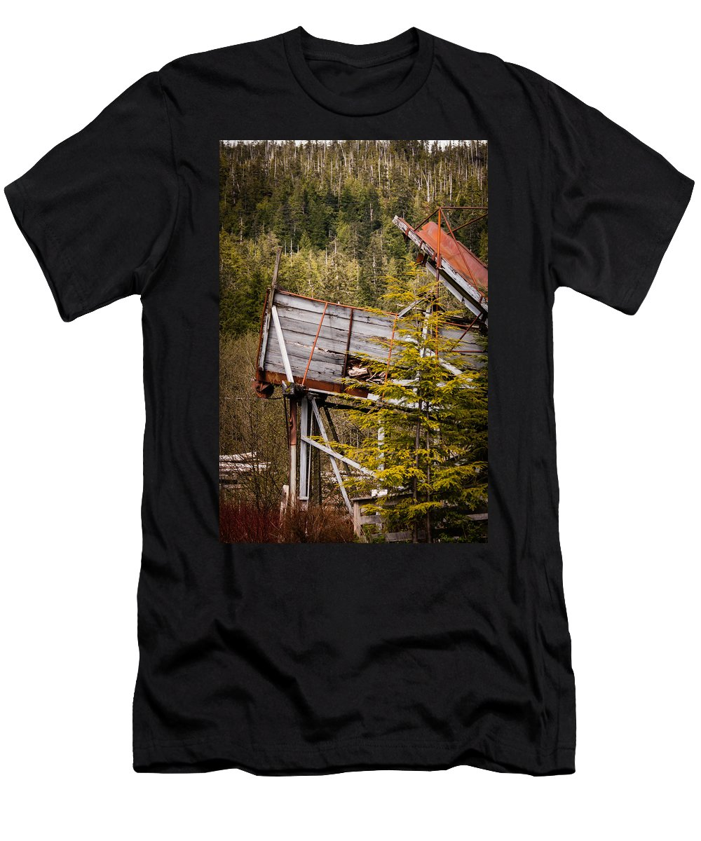 2008 Men's T-Shirt (Athletic Fit) featuring the photograph Forest Coveyor by Melinda Ledsome