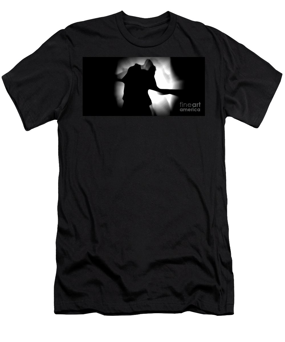 Black Men's T-Shirt (Athletic Fit) featuring the photograph Free by Jessica Shelton