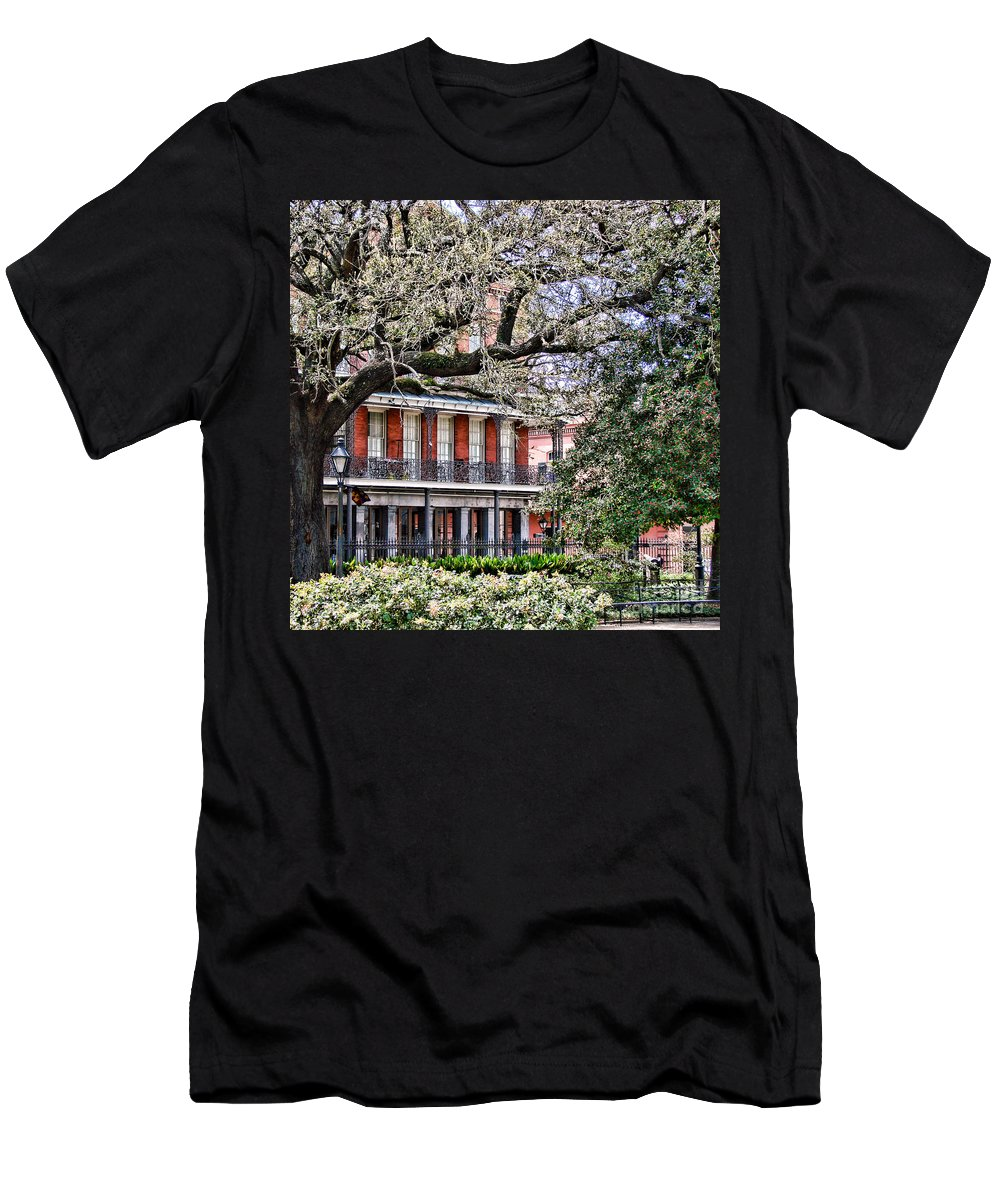 New Men's T-Shirt (Athletic Fit) featuring the photograph French Quarter Spring by Olivier Le Queinec