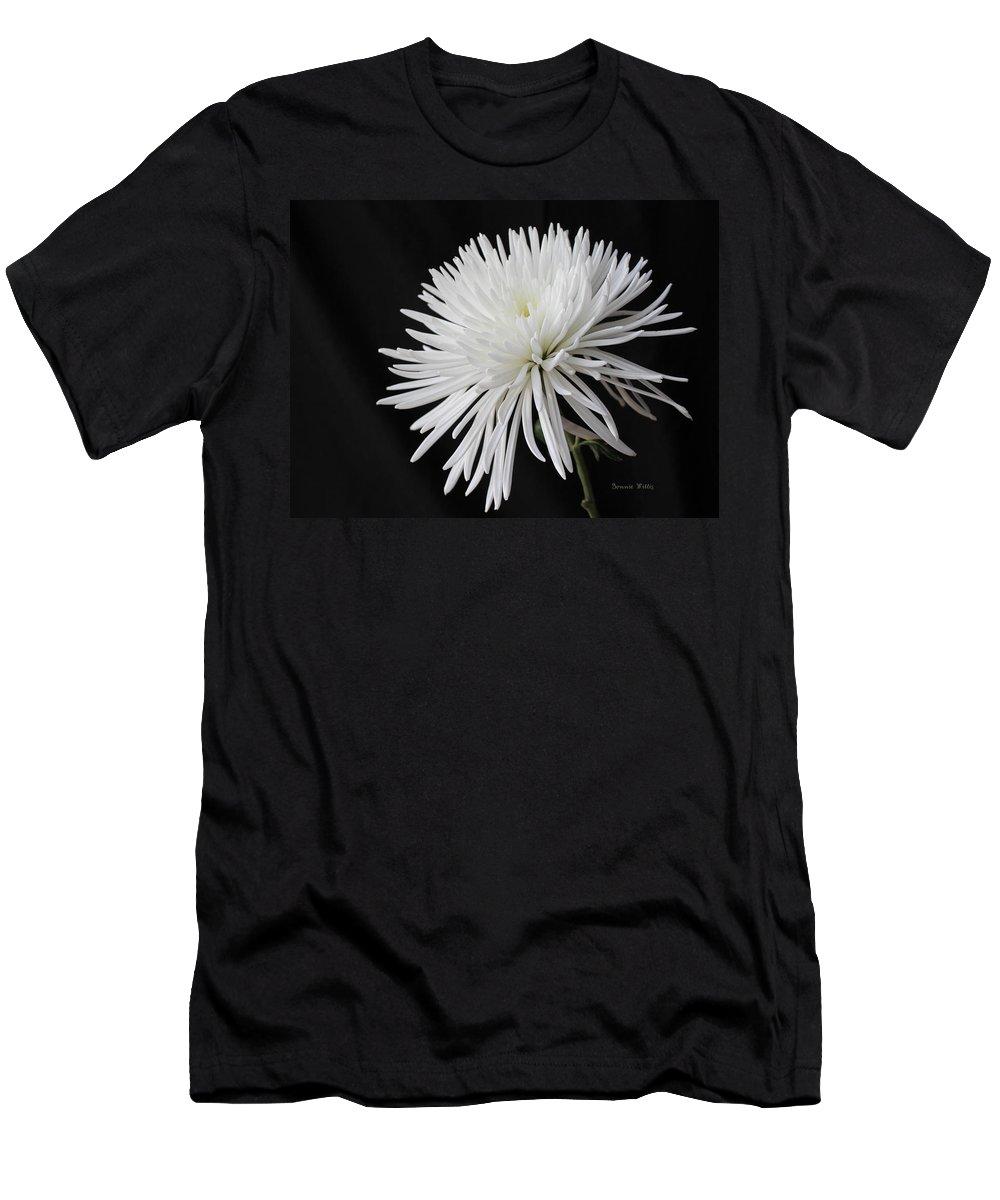 Mum Men's T-Shirt (Athletic Fit) featuring the photograph Fuji Mum by Bonnie Willis