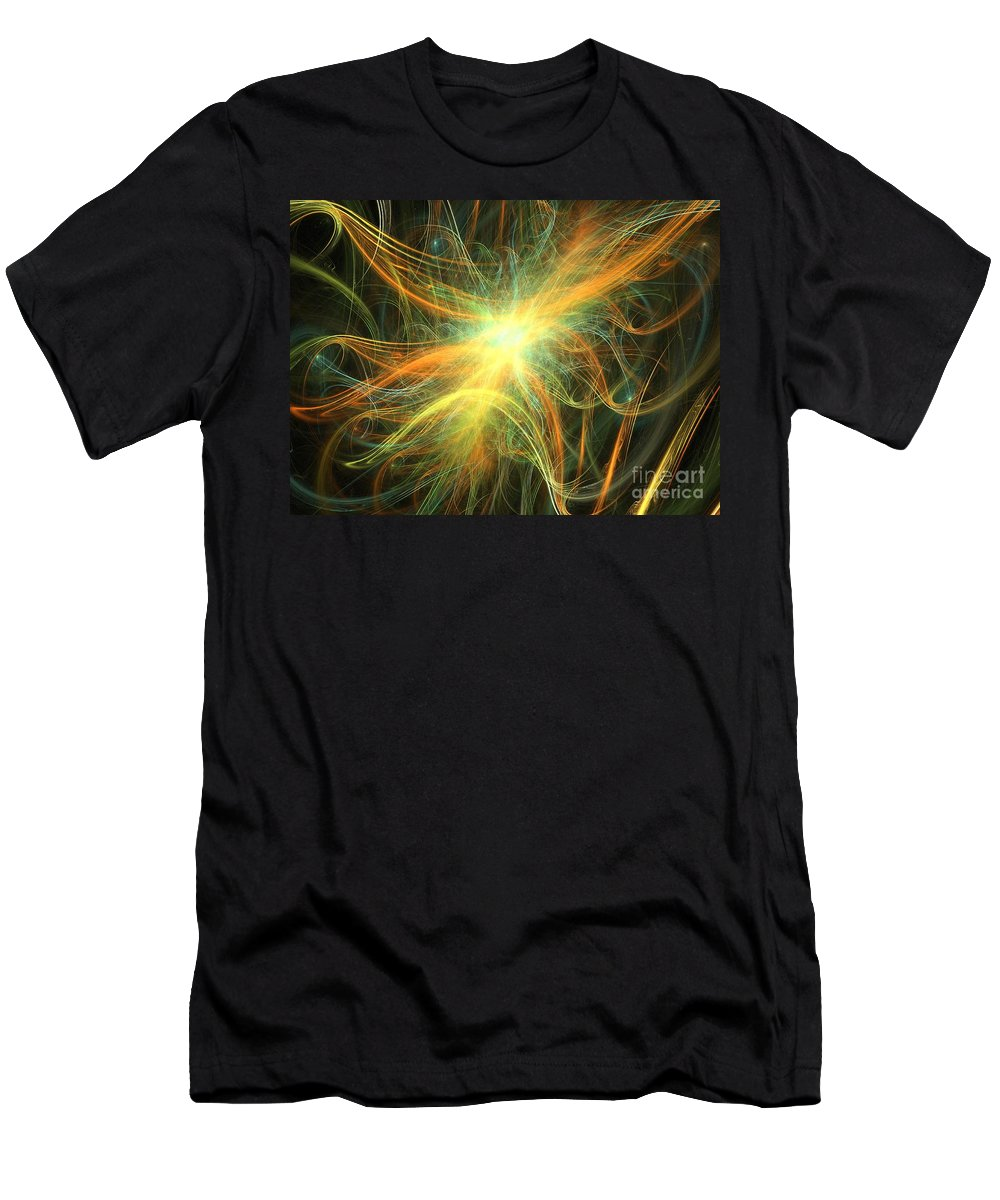 Apophysis Men's T-Shirt (Athletic Fit) featuring the digital art Gale by Kim Sy Ok