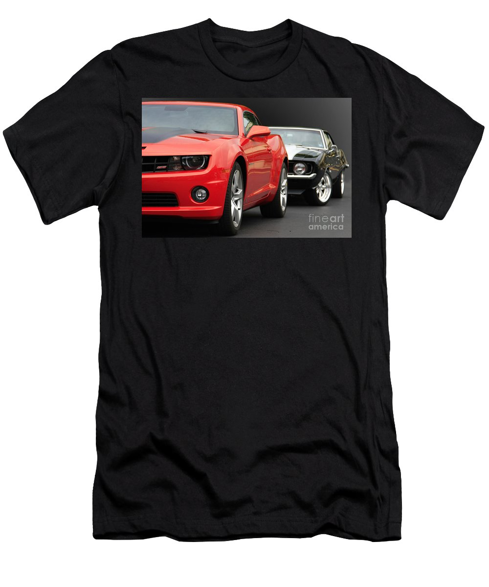 Classic Men's T-Shirt (Athletic Fit) featuring the photograph Generation Gap by Dennis Hedberg