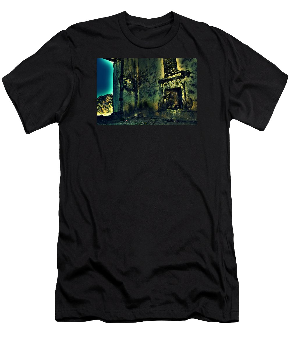 Wallpaper Buy Art Print Phone Case T-shirt Beautiful Duvet Case Pillow Tote Bags Shower Curtain Greeting Cards Mobile Phone Apple Android Nature George Everest's House Mussoorie Ruins Haunted Old House Abandoned Radha Bhavan Mussoorie Mansion Palace Fort Mountain Hill Top Ghost Salman Ravish Khan George Everest House Observatory Men's T-Shirt (Athletic Fit) featuring the photograph George Everest's House Mussoorie by Salman Ravish