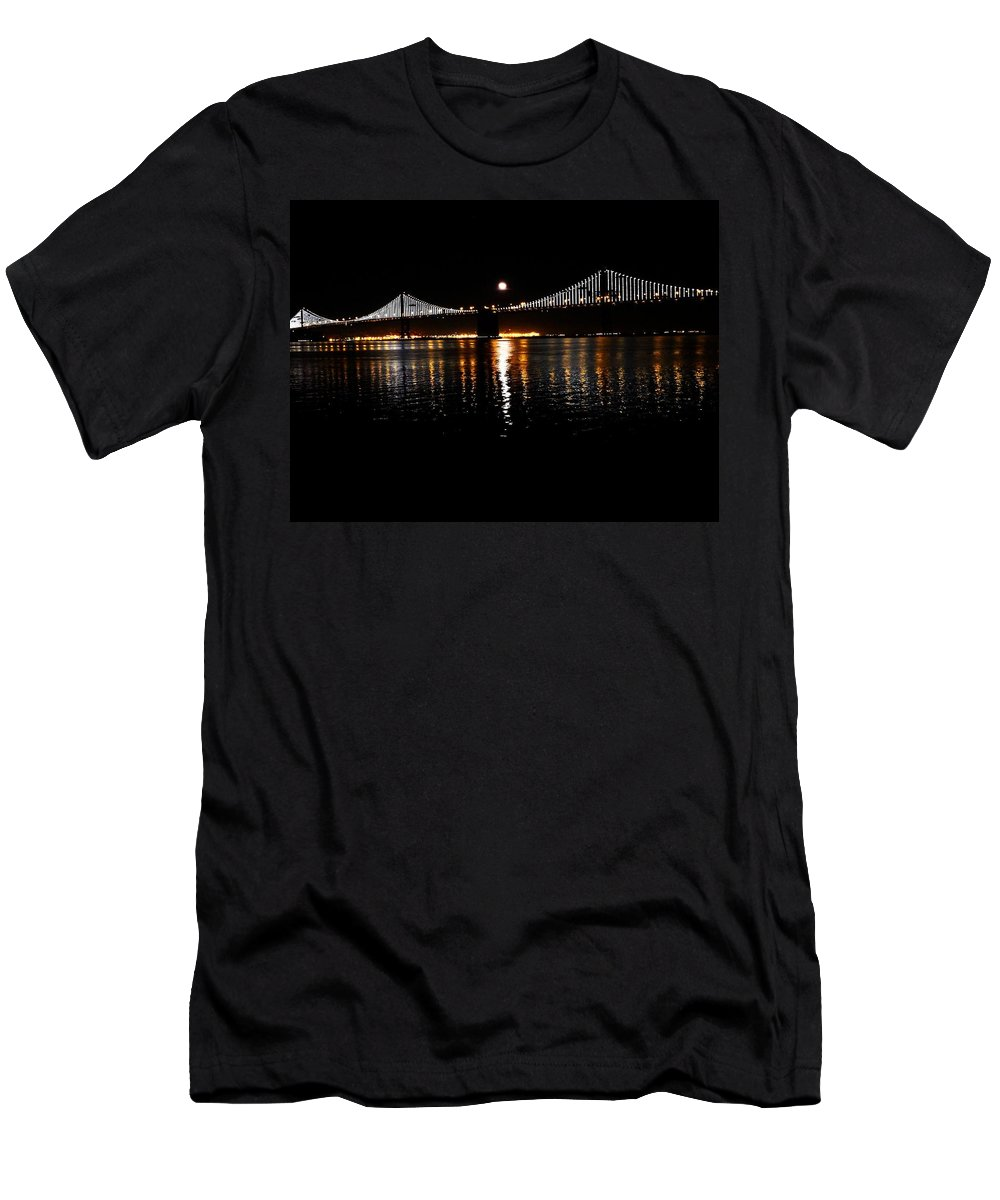 San Francisco Bay Area Men's T-Shirt (Athletic Fit) featuring the photograph Glory by Cathleen Cario-Reece