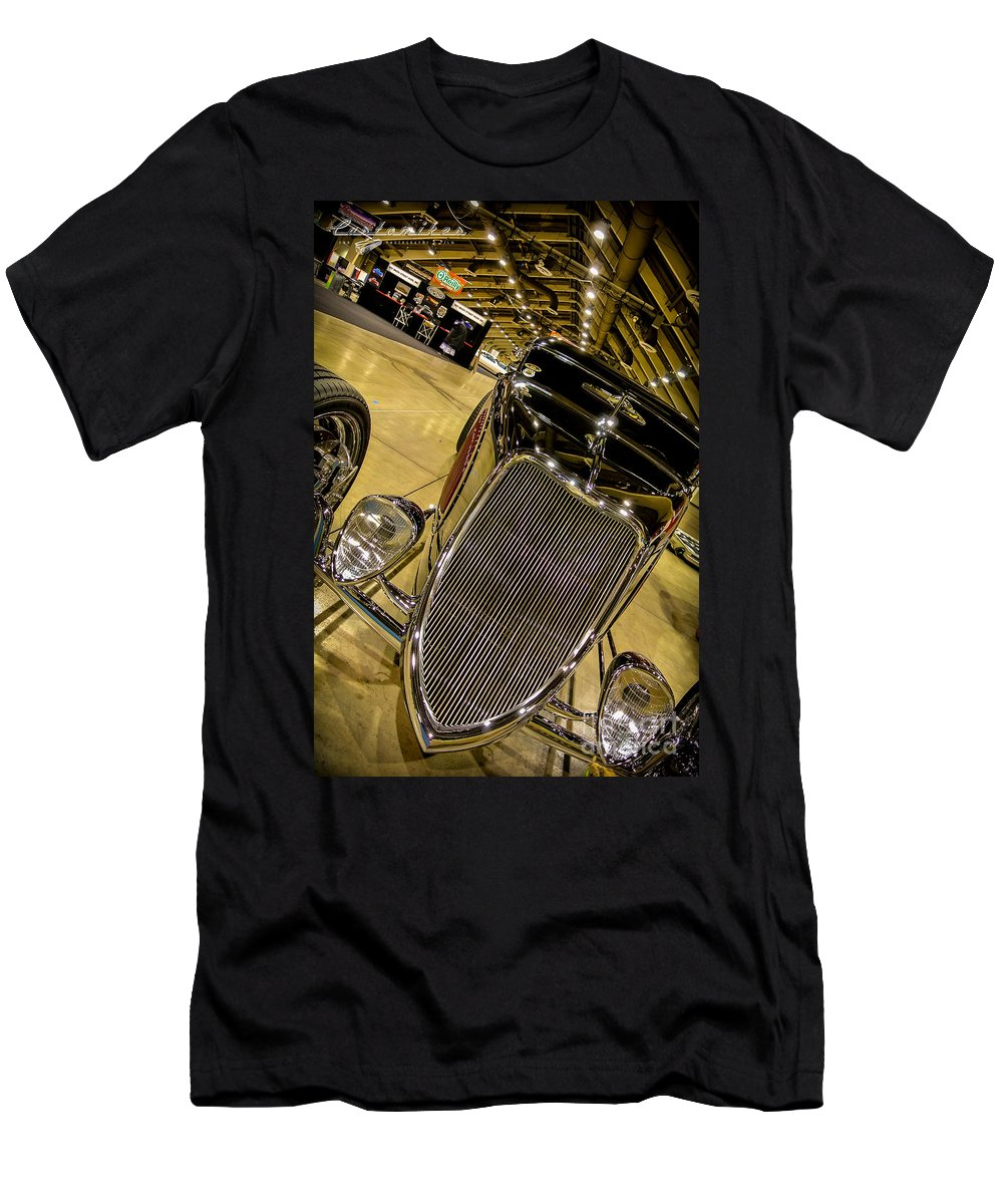 34 Men's T-Shirt (Athletic Fit) featuring the photograph Gnrs Coupe by Customikes Fun Photography and Film Aka K Mikael Wallin