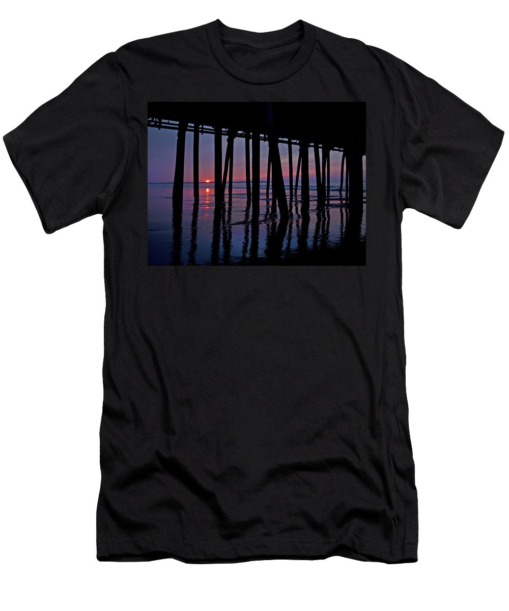 Old Men's T-Shirt (Athletic Fit) featuring the photograph Good Morning Old Orchard Silhouette  by Betsy Knapp