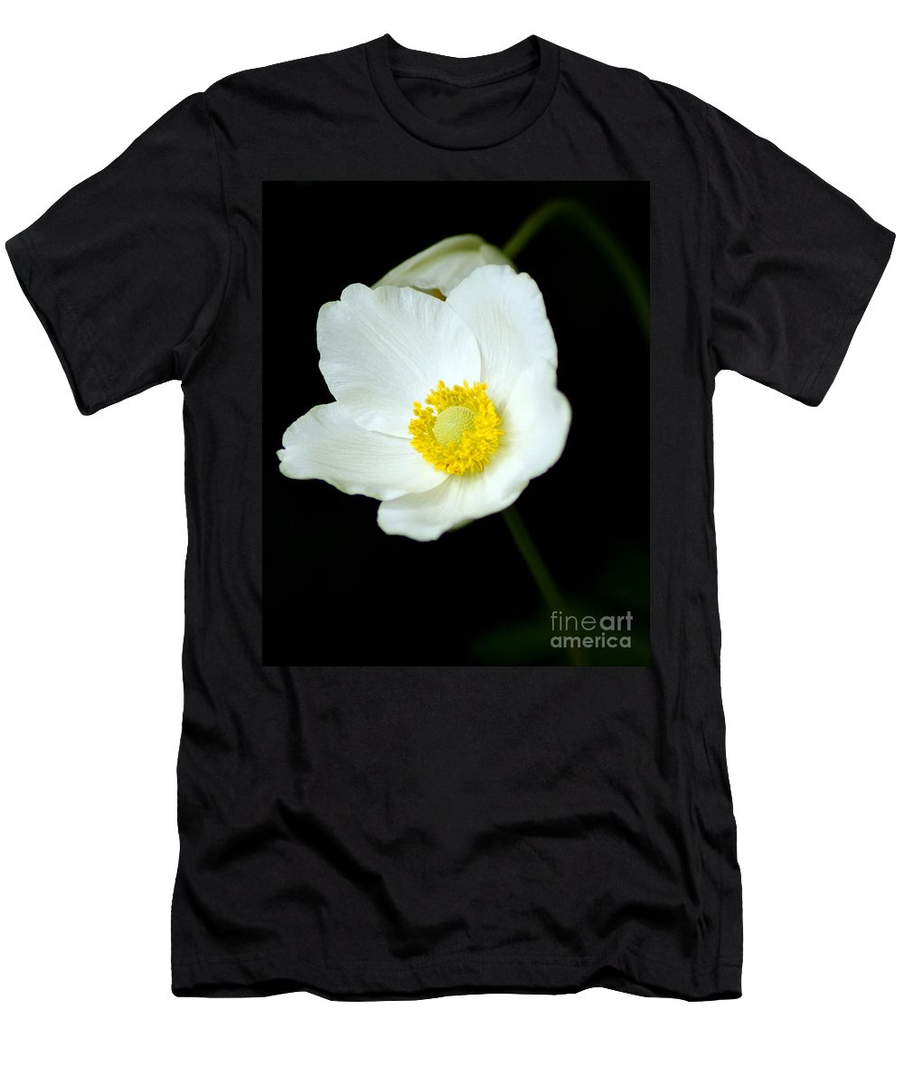 Flowers Men's T-Shirt (Athletic Fit) featuring the photograph Gram's Garden by Anita Braconnier