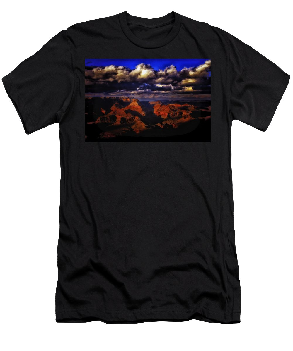 American Men's T-Shirt (Athletic Fit) featuring the photograph Grand Canyon 36 by Ingrid Smith-Johnsen