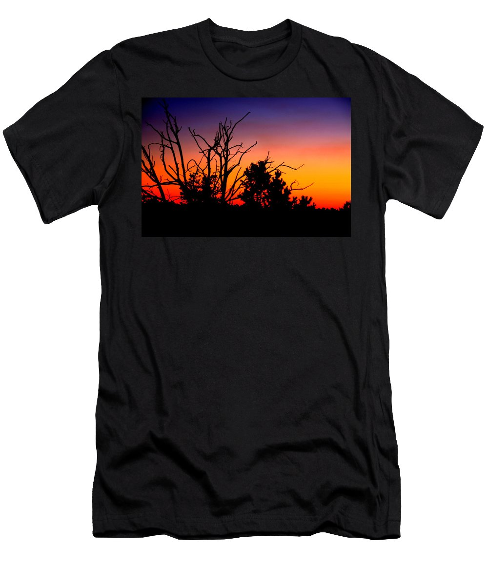 Grand Canyon Men's T-Shirt (Athletic Fit) featuring the photograph Grand Canyon Sunset by Aidan Moran