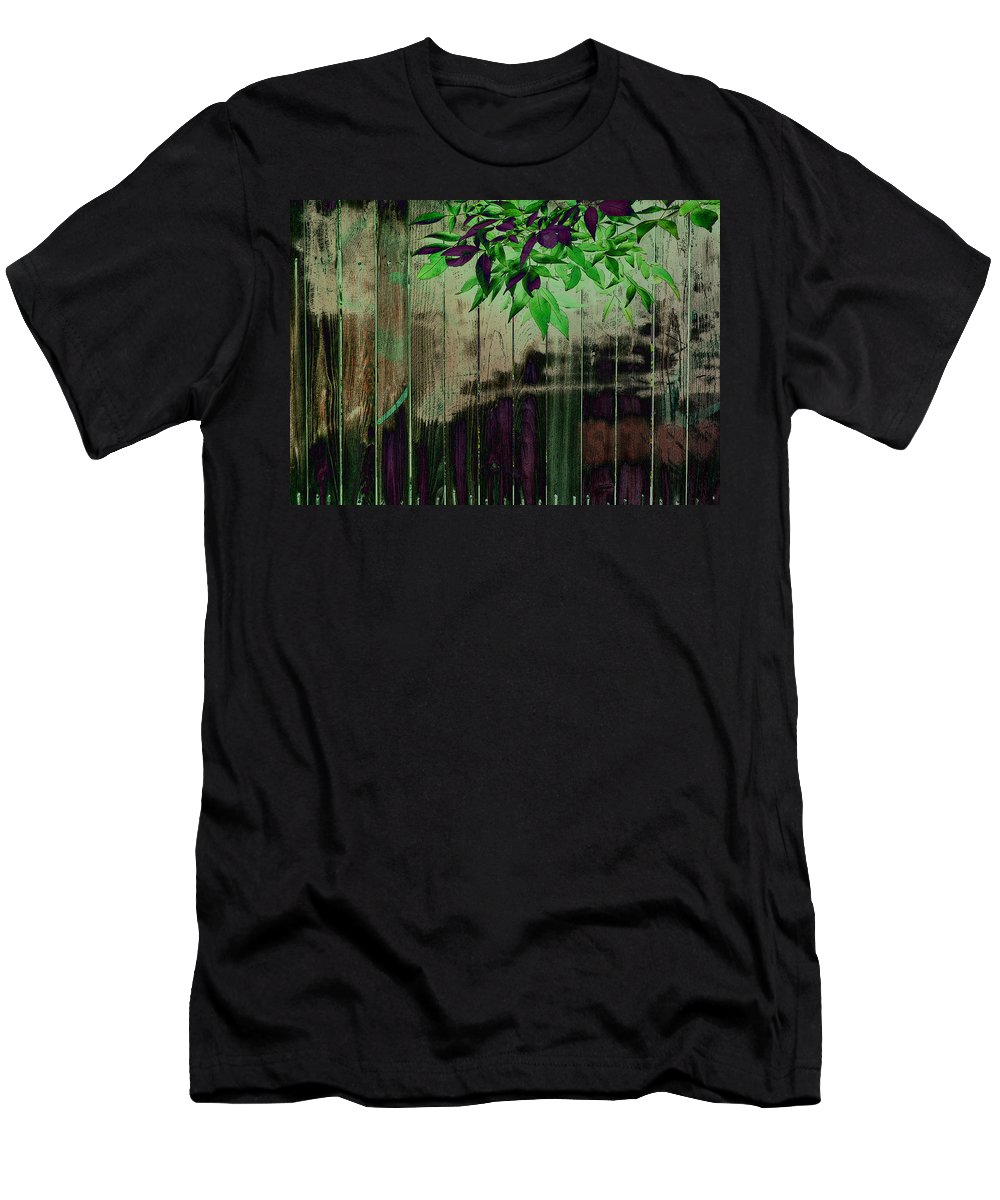 Men's T-Shirt (Athletic Fit) featuring the photograph Green Leaves by David Pantuso