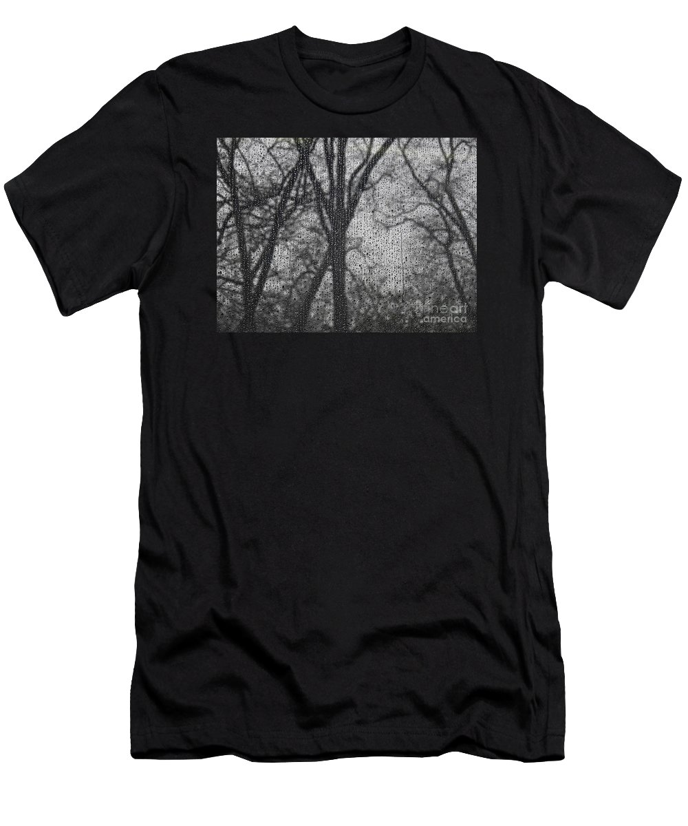 Grief 2 Men's T-Shirt (Athletic Fit) featuring the photograph Grief 2 by Sarah Loft