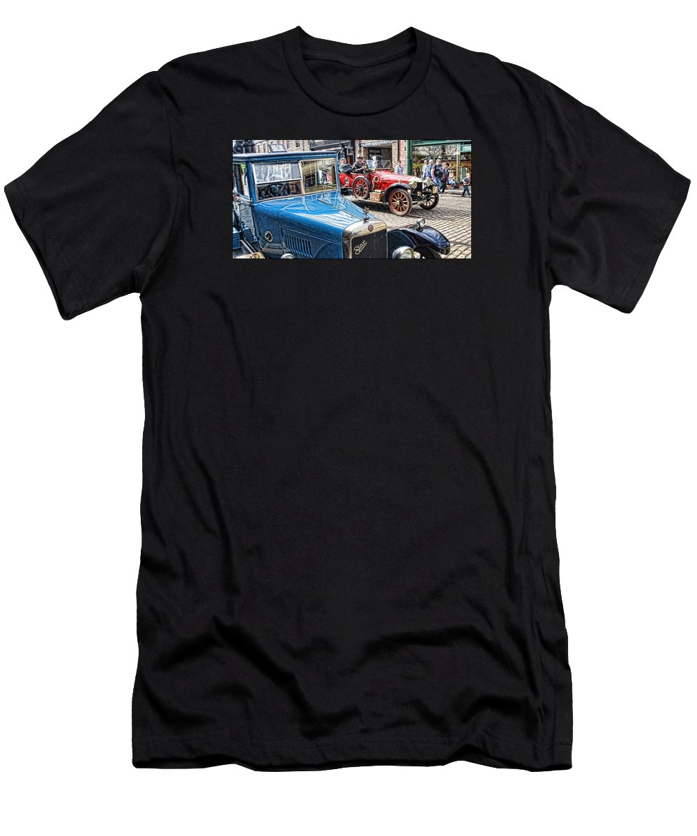 Beamish Men's T-Shirt (Athletic Fit) featuring the digital art Halcyon Days 7 by John Lynch
